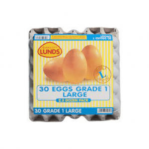 EGGS LARGE CHEVAL (2.5) 30S