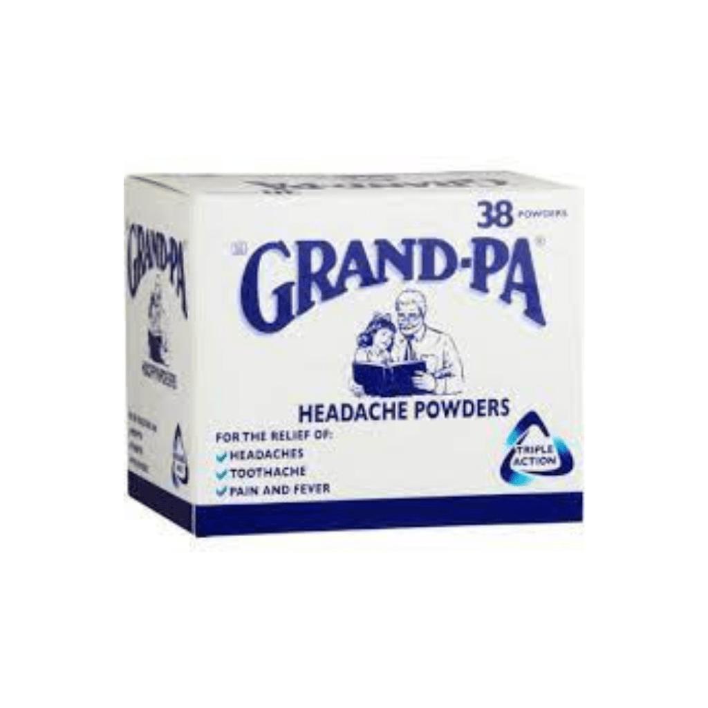 GRANDPA POWDER           1x38s
