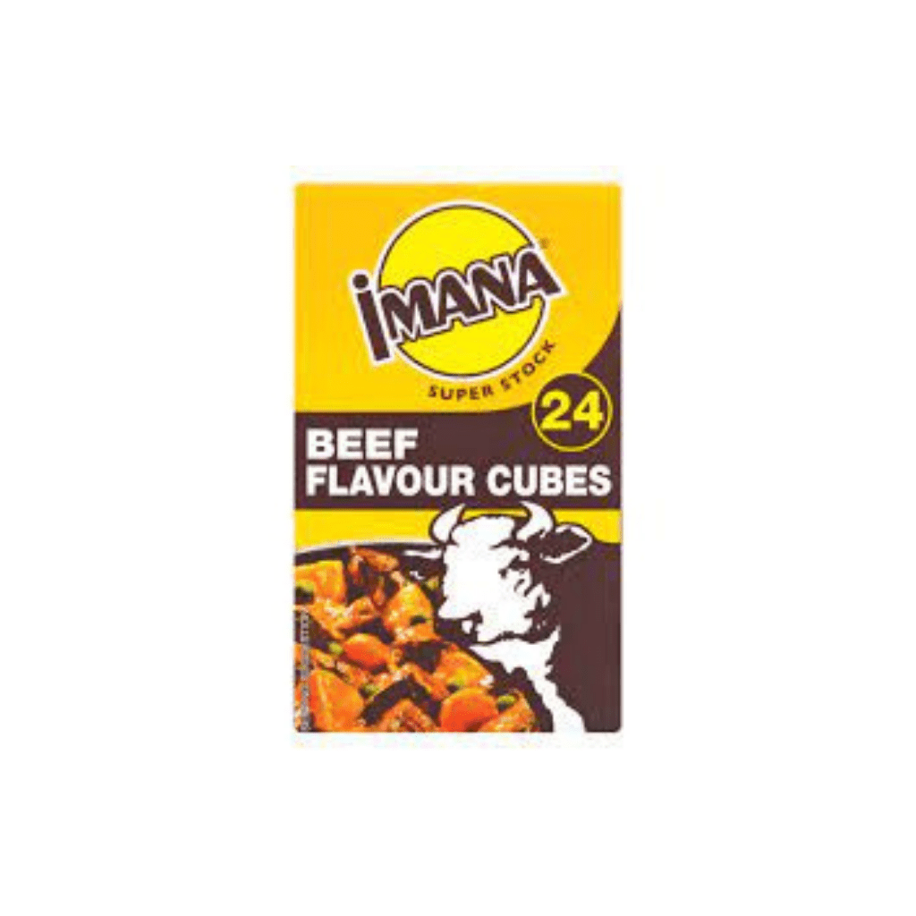 IMANA CUBES BEEF         1x24s