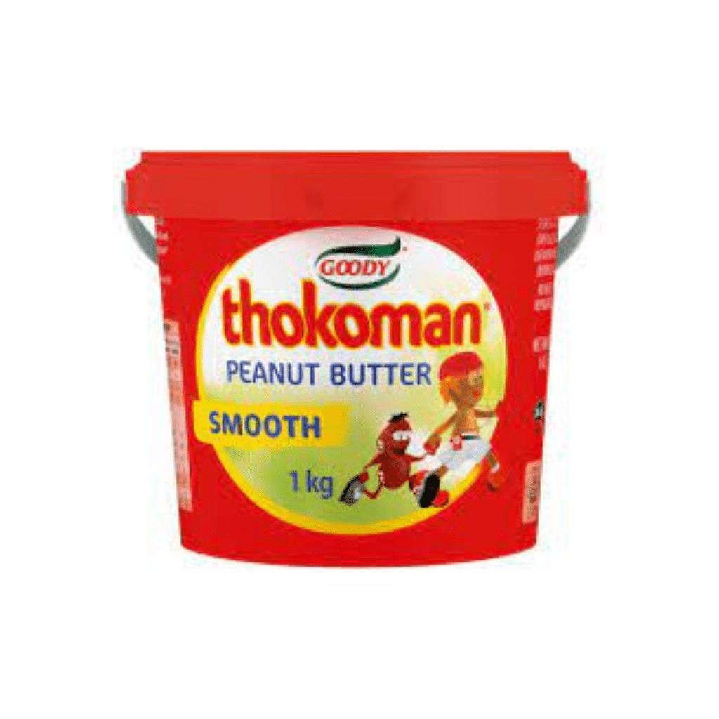 PEANUT BUTTER THOKOMAN SM  1kg