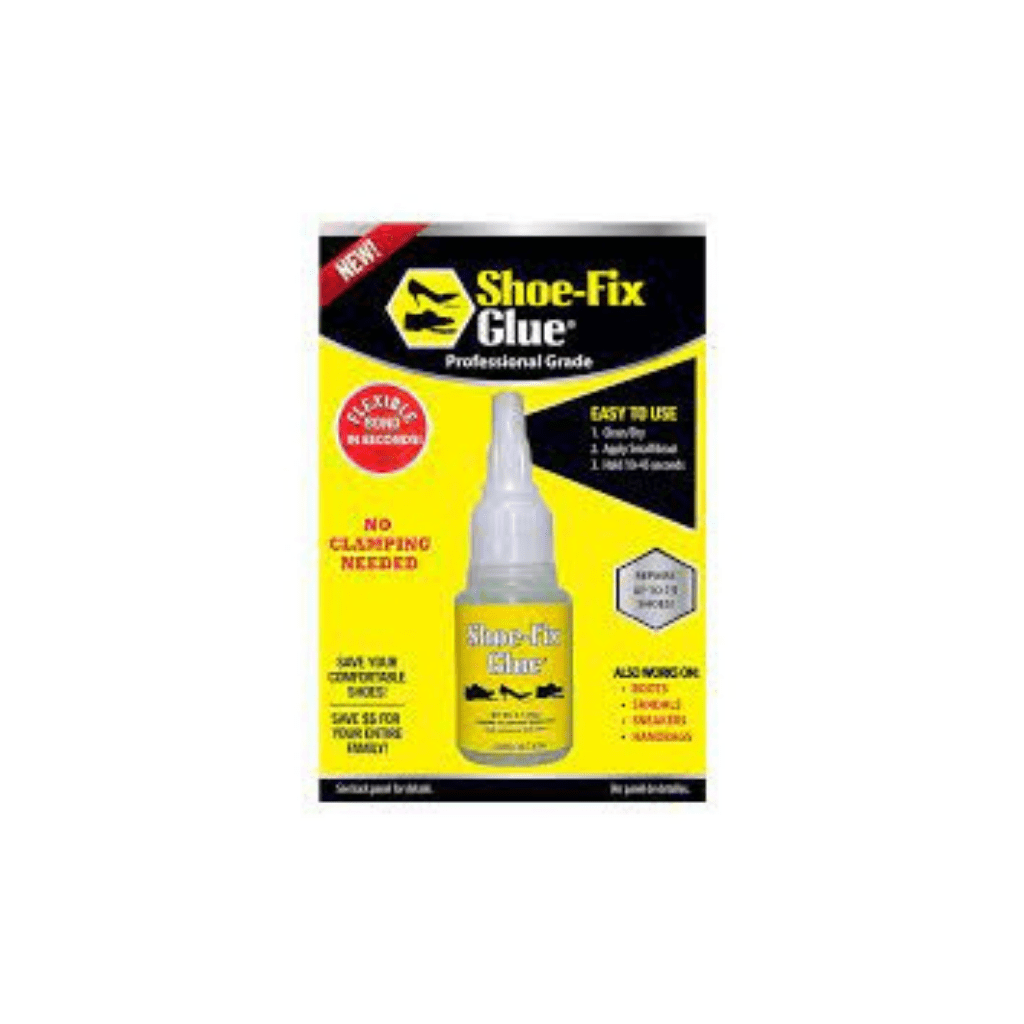 SHOE GLUE X-STR BROWN  1x125ml