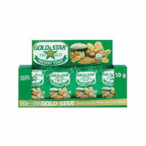 YEAST ANCHOR GOLD STAR  48x10g